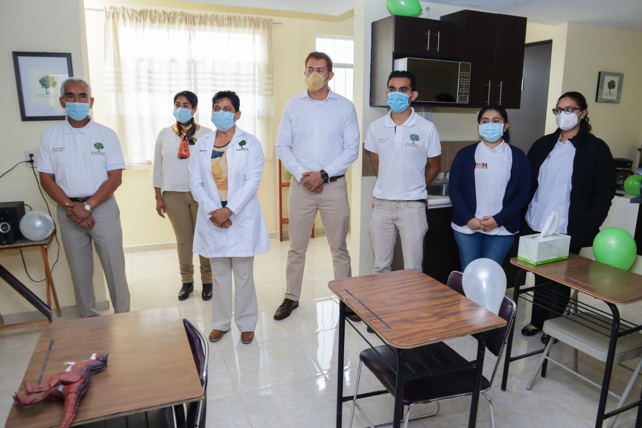 Participamos en la inauguración de instalaciones en Sabio Roble AC celebrando también 7 años de labor.