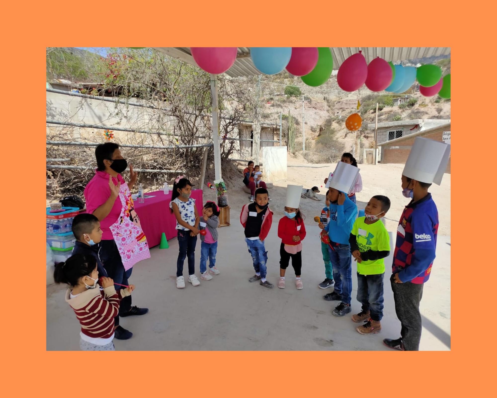 Crowdfunding exitoso para beneficiar la nutrición de comunidades vulnerables en Querétaro.