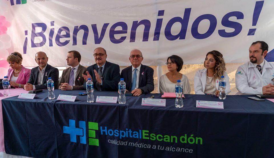 Tuvimos la oportunidad de asistir y formar parte del evento realizado por el Hospital Escandón, Conferencia Magistral: Cáncer de Mama.