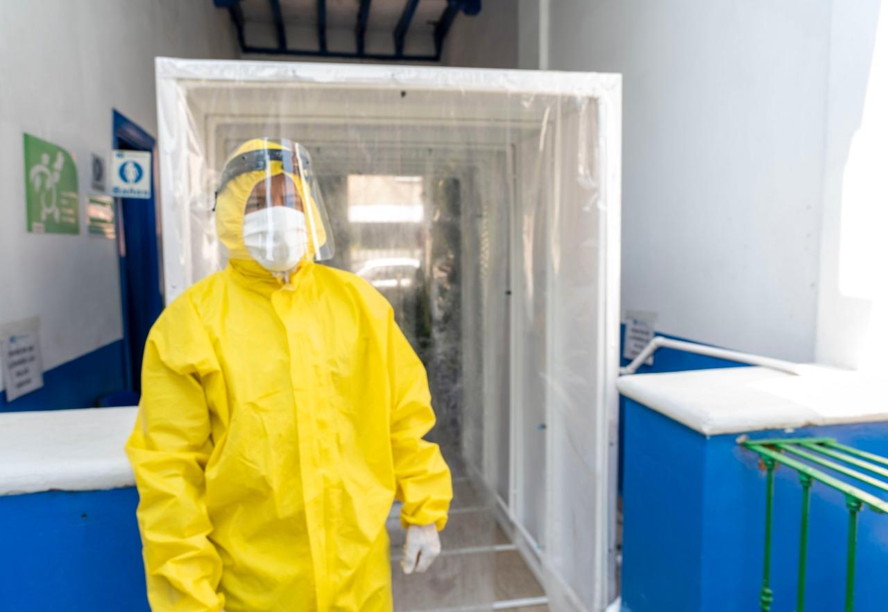 Fundación providencia: donativo de túneles sanitizantes
