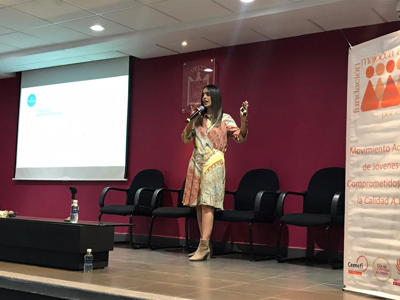 Se realizó presentación de la plataforma de Fundación Providencia en el Encuentro Estatal de organizaciones de la sociedad civil